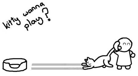 kitty wanna play by ralamantis