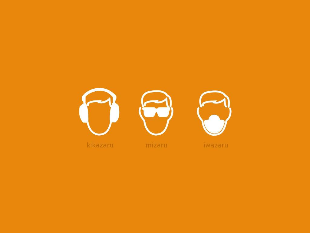 three wise monkeys by ralamantis