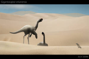 The Giant Birds of Mongolia by Julio-Lacerda