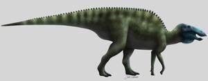 Edmontosaurus regalis by Julio-Lacerda
