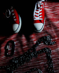 red converse IV by DanBonder