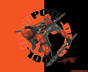 Deadpool Wallpaper by Lennardo