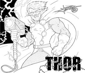 Thor GOT by Lennardo