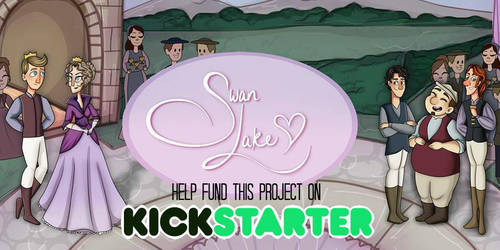 Swan Lake - Kickstarter Campaign by katidoodlesmuch