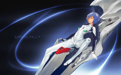 Rei Ayanami by redjuice999