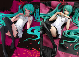 Hatsune Miku 'World is Mine' PVC Figure by redjuice999