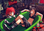 BLOOD LAD Liz and Beros by redjuice999