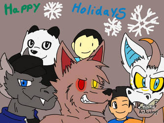 Happy holidays to friends by Terrix250