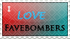 Favebomber Stamp by Inemiset