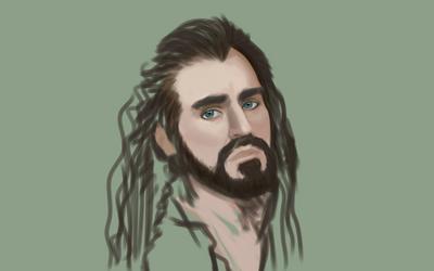 Thorin Oakenshield (WIP) by GreenishQ8