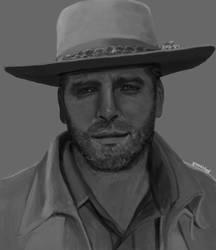 Burt Lancaster as Joe Bass by GreenishQ8