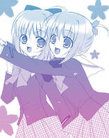 Twins by angelbox-chu