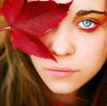 autumn eye by TakeMyWorldApart