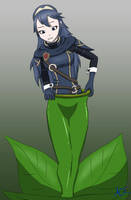 Lucina Plant Vore by AnonymousQuote