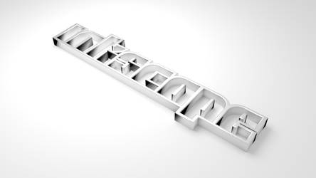 inkscape 3D typography by johnpaul51