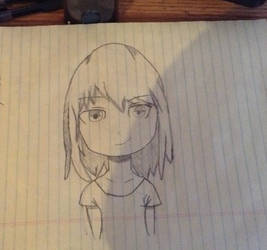 So I tried draw anime  by CreativeCC12