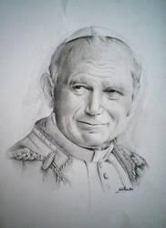 Papa Wojtyla by CristinaC75