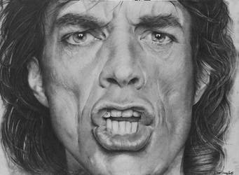 Mick Jagger by CristinaC75