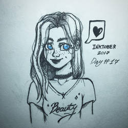 Inktober Day#17 - Blue eyes by oryaakov231