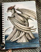 OC as a dragon by Idiza194