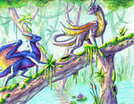 CM: Swampy Walk by Leithster