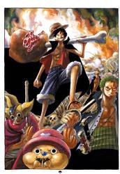 One Piece Fanart by KiraMeansKiller