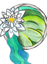 Symbol of Water the Water Lily by Moon-Crafter