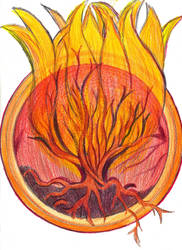 Symbol of Fire Wildfire by Moon-Crafter