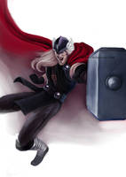 Thor by christeeeny