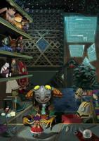 Toymaker's Workshop by PlaviGmaz