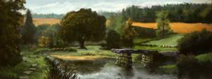River Fields Study by PiotrDura