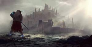 Storm the gates by PiotrDura