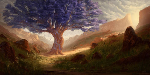 Tree of Solitude by PiotrDura