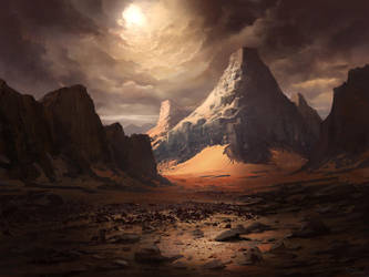 Mountain by PiotrDura
