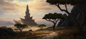 Tower of oblivion by PiotrDura