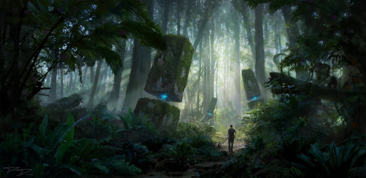Through the jungle by PiotrDura