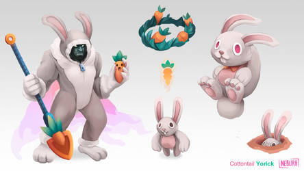 [SKIN CONCEPT] Cottontail Yorick by The0utlander