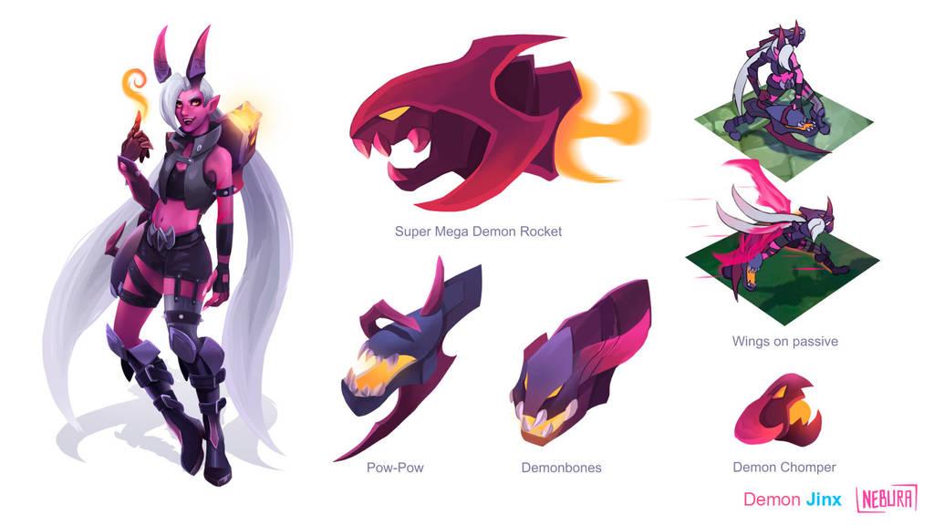 Demon Jinx Concept by The0utlander