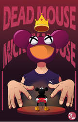 dead mouse vs mickey mouse by yubi01
