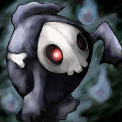 Duskull by SailorClef