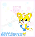 (The Bubble kitties) Mittens mini picture by CelestialGalaxies