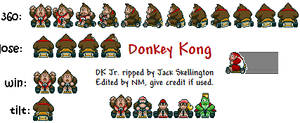 Donkey Kong Mario Kart Sprites by WolfNM