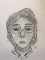 Self-Portrait (Art Final)  by DeerLeo