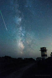 Milky Way over Gooseberry Island by maverick3x6