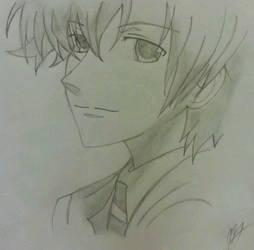 Tamaki Ouran Host Club Drawing by crimsonblood21