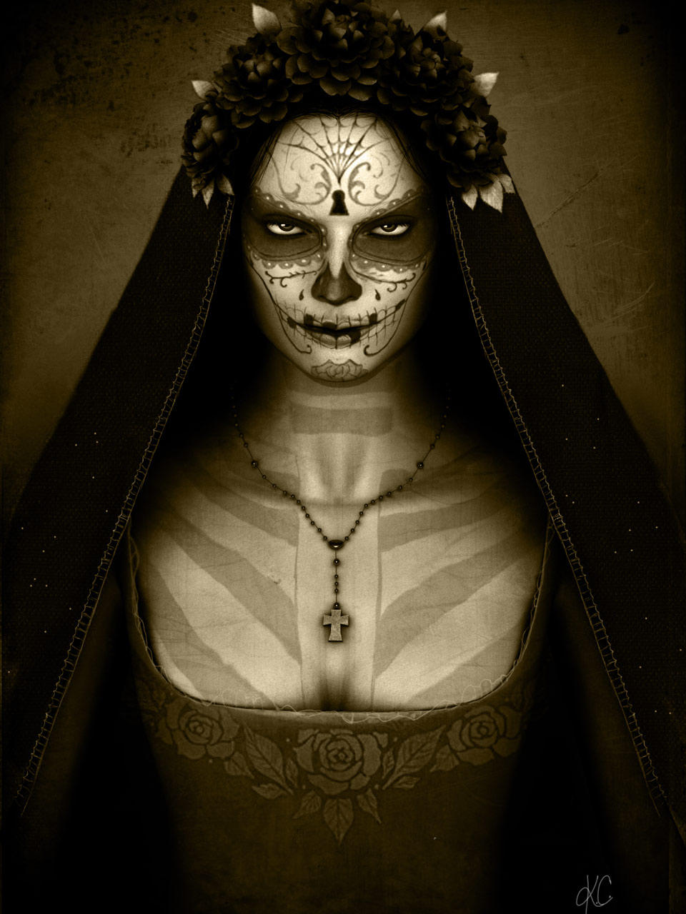 Santa Muerte by Helrog