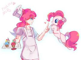 wait~pinkie pie by Kinda-L