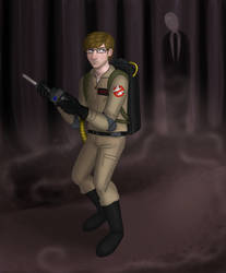 Eric ain't afraid of no ghost by Puddum