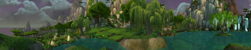 Jade Forest - Lake Kittitata by Wishmasterok