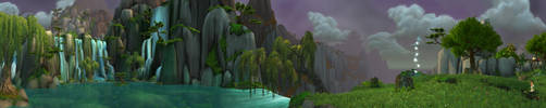 Jade Forest - Lake Kittitata 2 by Wishmasterok